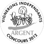 medaille argent vignerons independants 2012