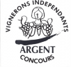 medaille argent vignerons independants
